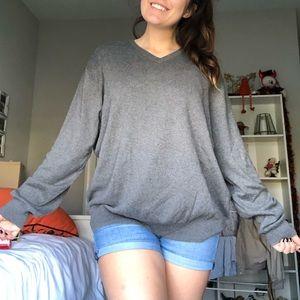 💛JCrew Men's sweater Gray